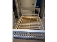 Hampton double bed frame from The White Company