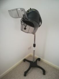 Hair dryer portable salon style with removable stand