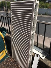 FREE to collectors, large double radiator