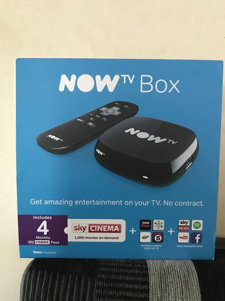 Now Tv Smart Box , Brand New