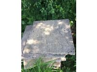 slabs 2 x 2 and 2 x 1ft