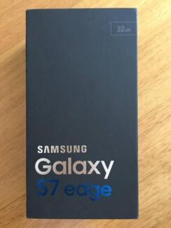 BRAND NEW Galaxy S7 Edge - 32GB - Black (Warranty)