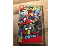 Super Mario Odyssey - Nintendo Switch - brand new sealed