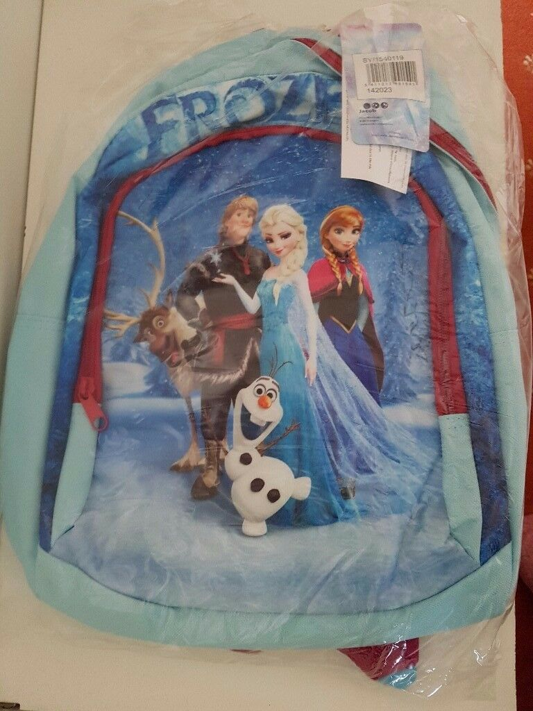Disney Frozen Backpack - brand new