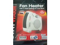 Hot and cold fan brand new in box