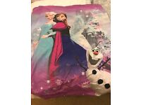 Frozen cotbed quilt cover
