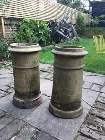 Two Victorian Chimney Pots for sale