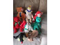 TY Beanie Babies Bargain Bundle Eight for £5.00