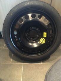 Vectra spare wheel
