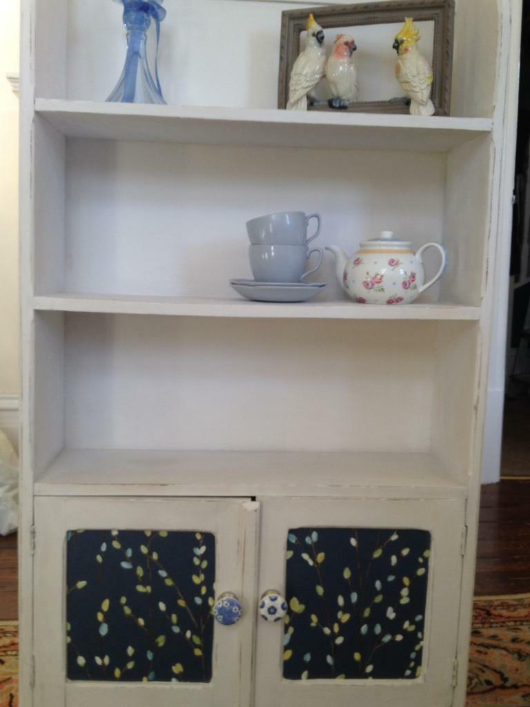 Vintage shelving/wall cupboard