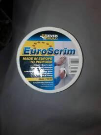 Job lot 3 rolls of Euro scrim tape