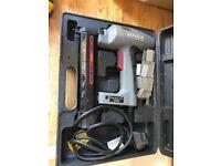 Electric nailer- tack gun in case