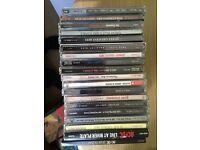 Rock CDs for sale Vgc