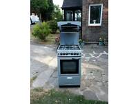 High level grill gas cooker