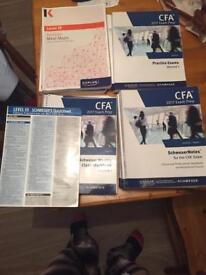 CFA Level 3 Kaplan Schweser Notes, Practice Exams, Quicksheet and Additional Revision Material