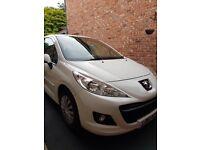 2011 White Peugeot 207 53,000 miles