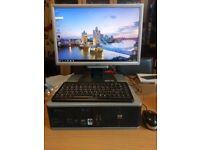 HP Compaq PC System. AMD Dual Core 2.30GHz Processor, 4.00GB Ram Windows 10 Pro