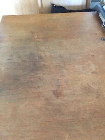 Original farmhouse pine kitchen/dining table