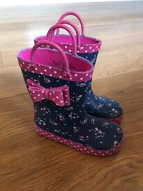 Girls Welly Boots