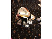 Palm Springs graphite shafted golf clubs full set