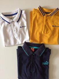 Boys designers tshirts size 8/9