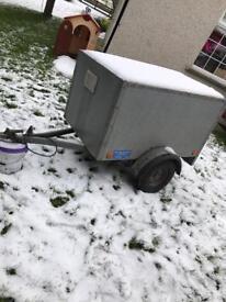 Broniss 5x3 dog / box trailer