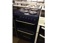 NICE 50 CM BLUE ELECTRIC COOKER - FAN ASSISTED 🇬🇧🇬🇧🇬🇧