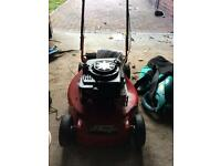 Petrol lawnmower relatively new