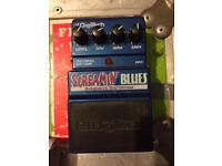 Digitech Screamin' Blues Overdrive Pedal