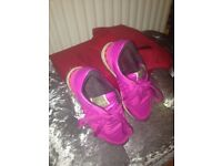 Woman's pink valentions trainers uk 4.5!