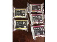 Epson T1283 x3 T1284 x 2 ink Cartridges