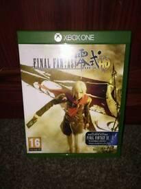 Final fantasy HD xbox one