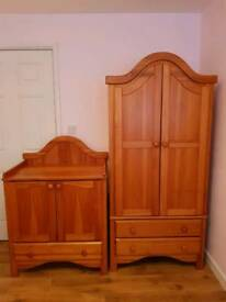 Nursery wardrobe & changing unit