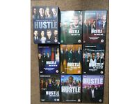 Hustle Complete Series 1-8 DVD BoxSet 16 Disc