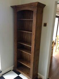 Bookcase dark wood