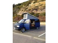 volkswagon camper conversion. pop top roof. liesure battery. r and r bed . low milage.