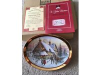 Limited Edition. Davenport Christmas plate. Brand new