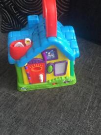 Leap frog activity toy
