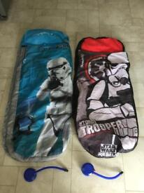 Star Wars Ready Bed Cover (inner has slow leak)