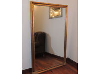 Extra Large Gold Unique Mirror (Delivery)
