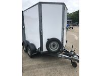BV85 6 feet long special made trailer with combination doors