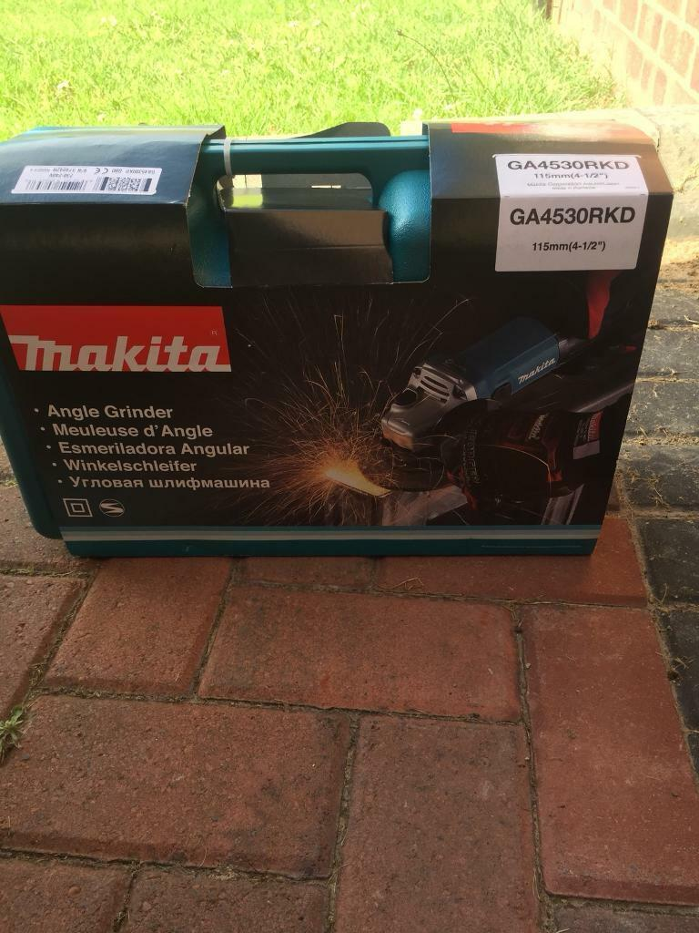 Makita grinder brand new