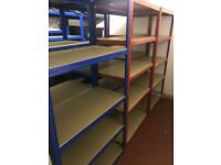 8 x Heavy Duty shelving Units, as new condition. MUST GO ASAP