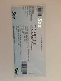 The specials tickets x4