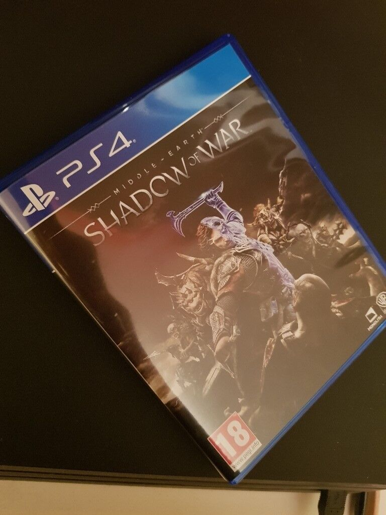 """""""Middle of Earth - Shadow of War - PS4 with DLC"""