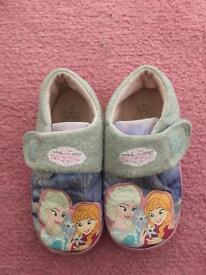 Frozen slippers size 10