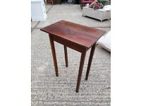 Occasional Table - wood coffee tall unusual