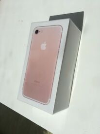 iPhone 7 Rose Gold brand new