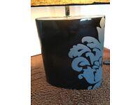Next Black Table Lamp And Shade
