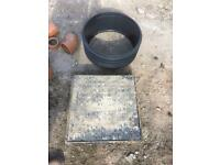 Manhole covers large and small